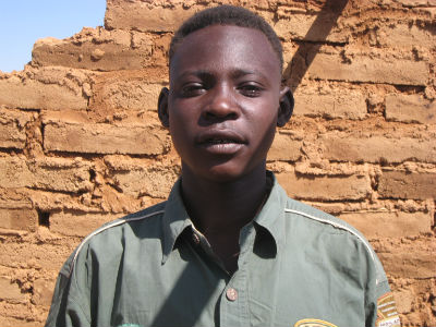 Ismail, back-up goalie of Darfur United