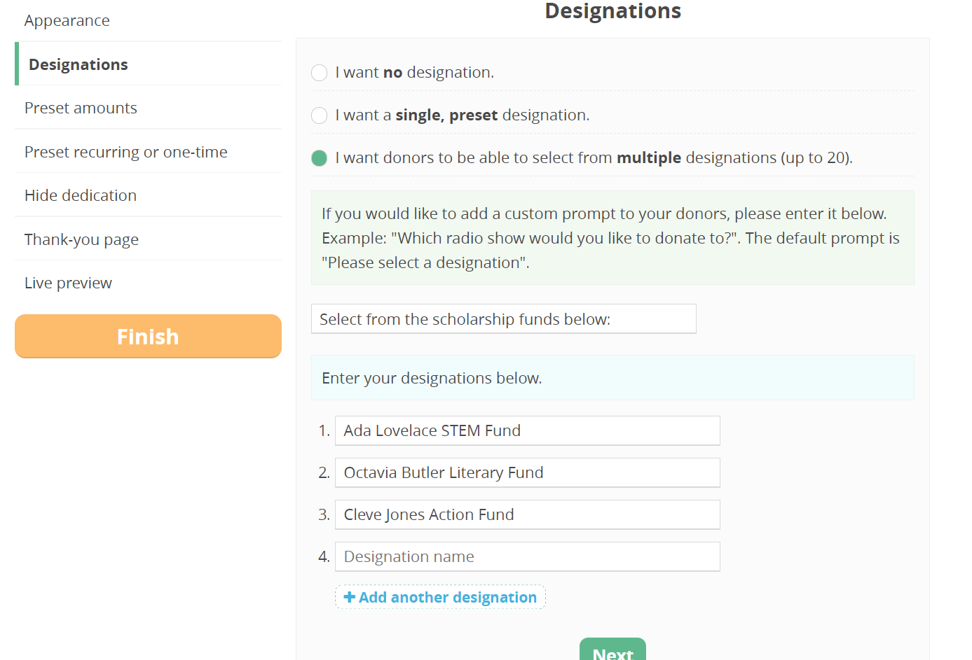 CommitChange DropDown Form Builder