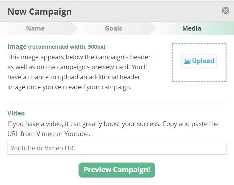 CommitChange Campaigns: Upload Media