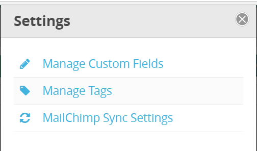 CommitChange Supporter Settings Modal
