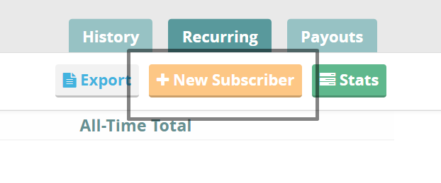 CommitChange New Subscriber Button