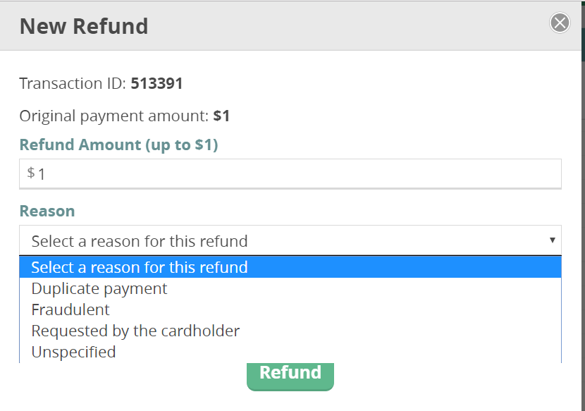 CommitChange Refund Form