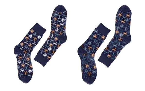 Radiotopia Zag Socks (2-pack)