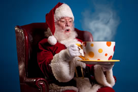 Can't wait....Santas coming to Palate Coffee Brewery!!!