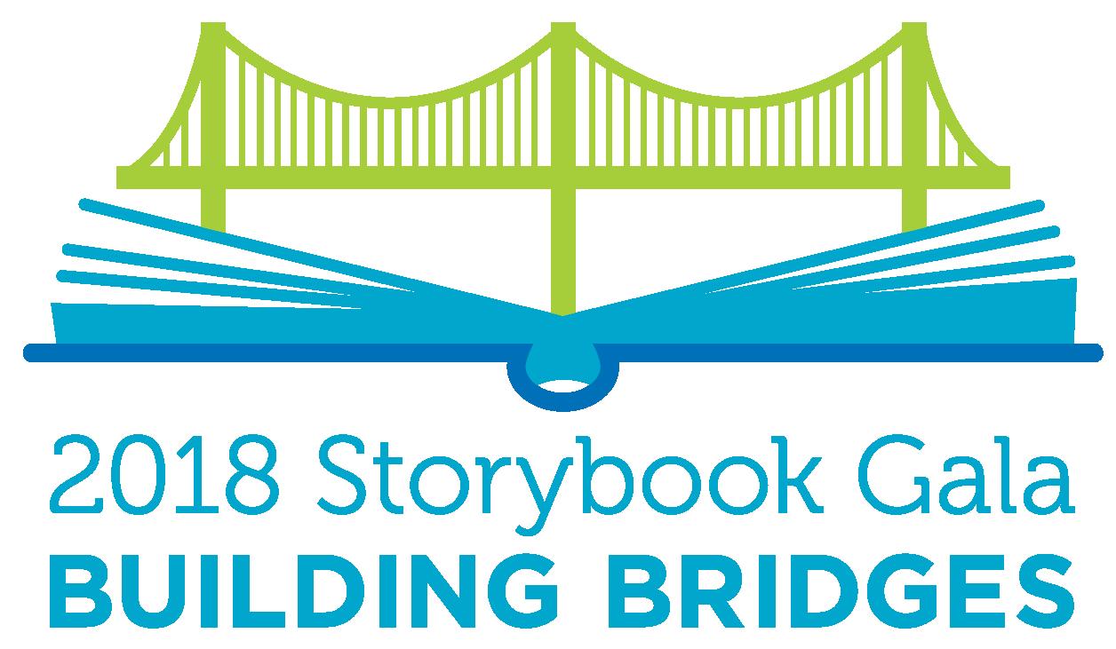 2018 Storybook Gala: Building Bridges logo